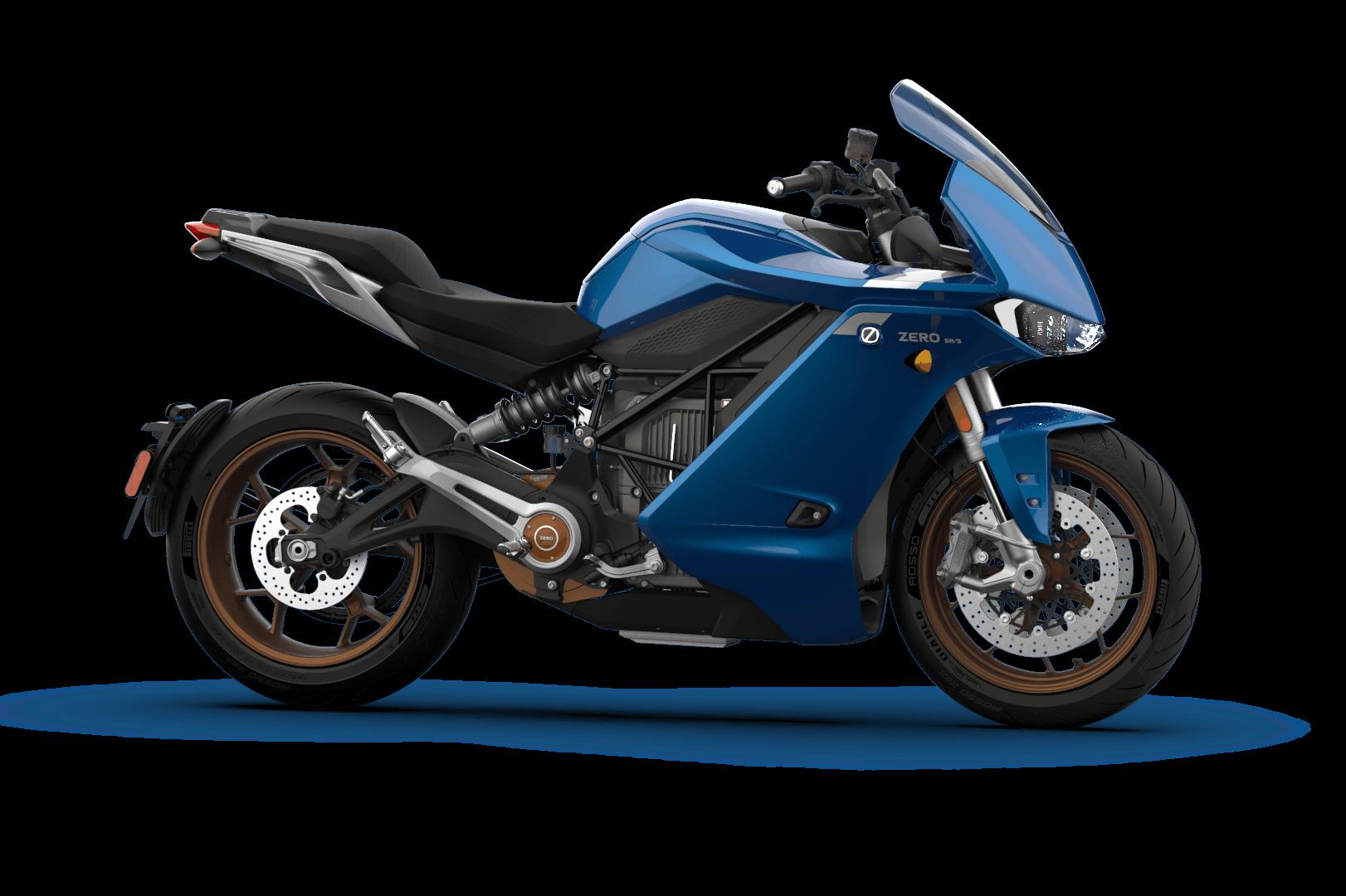 Zero SR/S Standard Blue